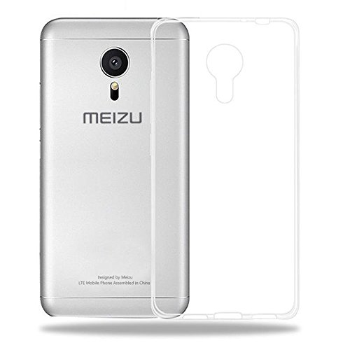 Plus Perfect Fitting High Quality 0.3mm Ultra Thin Transparent Silicon Back Cover For Meizu m3 note