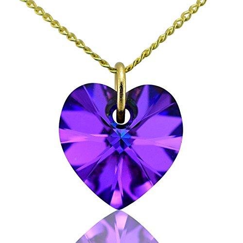 jewellery-joia-9k-375-oro-giallo-cuore-viola-blu-cristallo
