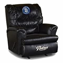Buy MLB San Diego Padres Big Daddy Leather Recliner by Imperial