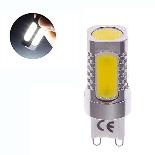 Fashion Partical High Power Aluminum G9 7W Cob Led Pure Warm White Light Bulb Lamp 220V