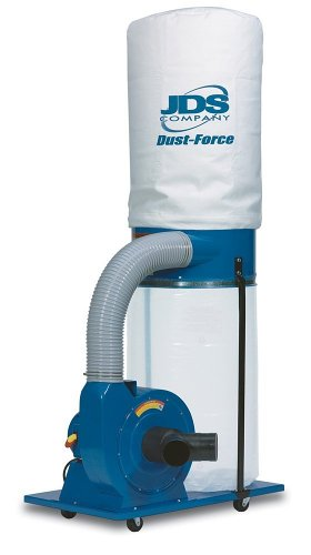 Buy JDS Company 14040 Dust-Force 1-1/2 Horsepower 1,250 CFM Vertical Bag Dust Collector, 110/220-Volt Pre-Wired 110-Volt (JDS Power Tools,Power & Hand Tools, Power Tools, Vacuums & Dust Collectors, Dust Collectors)