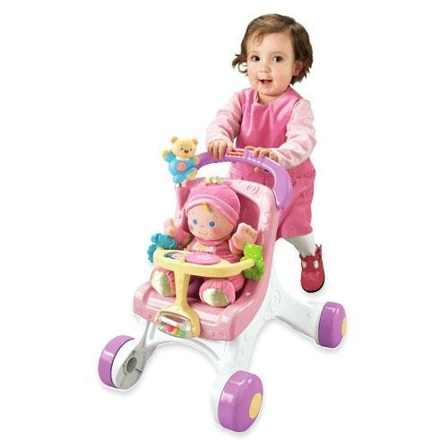 Fisher-Price Brilliant Basics A lo largo de Paseo-Walker