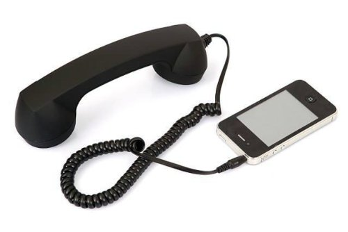 Retro Classic 3.5Mm Retro Cell Phone Handset Receiver