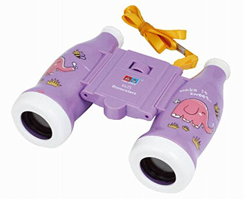 Kids Toy Binocular Telescope Outdoor Science Explore Educational Toys, Purple
