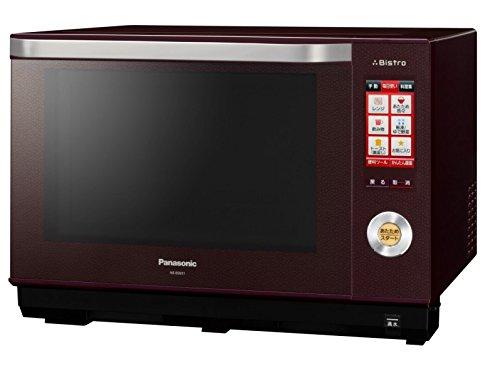 Panasonic ビストロ スチームオーブンレンジ 26L ブラウン NE-BS651-T