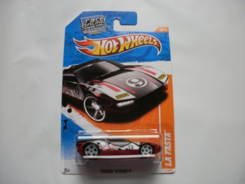 2011 Hot Wheels 77/244 - Track Stars 12/15 - La Fasta (Red/White/Black) - 1