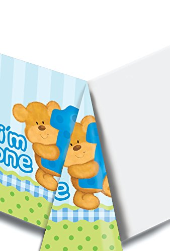 Charmed Celebrations Charmed Celebrations Bears First Birthday Boys Table Cover