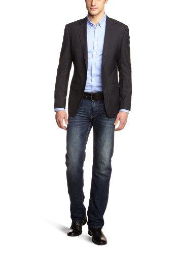 Esprit Men's Regular Fit Two-Piece Suit Black S