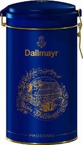 Dallmayr Prodomo Ground Coffee Gift Tin, Blue,