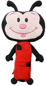 Seat Pets Red/Black Ladybug Car Seat Toy Children, Kids, Game