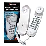 Best  Electrolite Slimline Corded Telephone Wall Mountable Cream