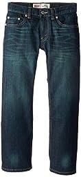 Levi's Big Boys' 505 Regular Fit Jean, Cash, 8
