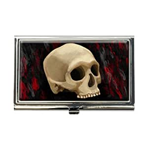 Amazon Gothic Human Skull Business Credit Card