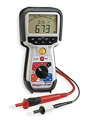 Megger MIT485-EN Insulation Tester, 200 Gigaohms Resistance, 50V, 100V, 250V, 500V, 1000V Test Voltage