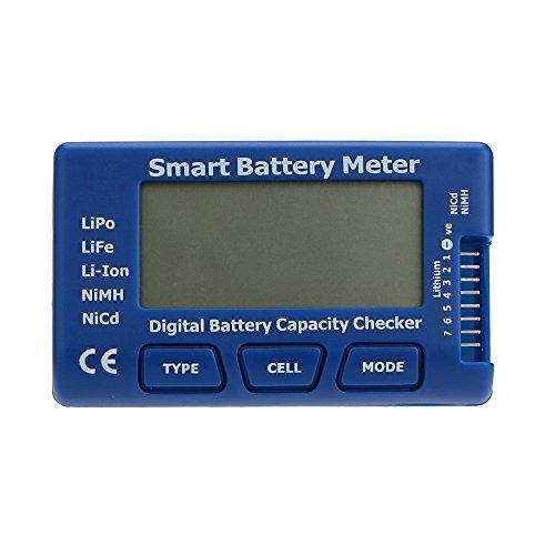 GoolRC Correttore capacità batteria digitale intelligente per la vita di LiPo NiMH NiCd Li-ion batteria