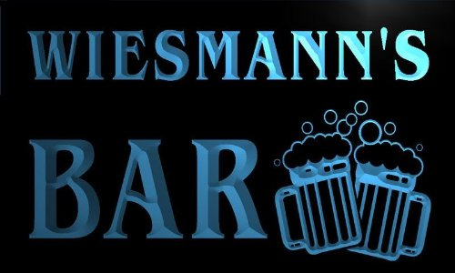 w075929-b-wiesmanns-name-home-bar-pub-beer-mugs-cheers-neon-light-sign