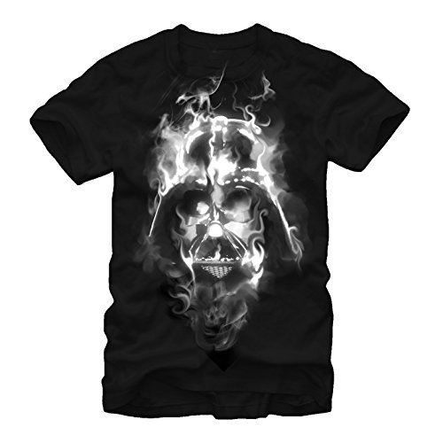 Star Wars Darth Vader Smoke Mens Graphic T Shirt - Fifth Sun