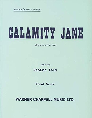 Calamity Jane (vocal Score)