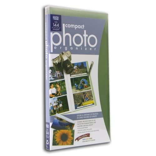 : Portaview Compact Photo Organizer with Case 144 ct. assorted colors