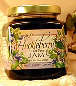 Sugar Free Wild Huckleberry Jam, 11oz