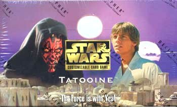 Star Wars Customizable Card Game Tatooine Booster Box - Buy Star Wars Customizable Card Game Tatooine Booster Box - Purchase Star Wars Customizable Card Game Tatooine Booster Box (Star Wars, Toys & Games,Categories,Games,Card Games,Collectible Trading Card Games)