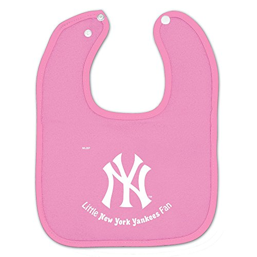 New York Yankees Official Mlb Infant One Size Baby Bib front-709002