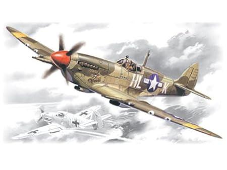 Maquette avion: Supermarine Spitfire MK VIII U.S.A.F.
