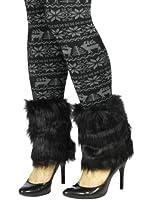 Simplicity Women/Ladies Warm Soft Fashion Faux Fur Leg Warmers Boots Cuffs Cover