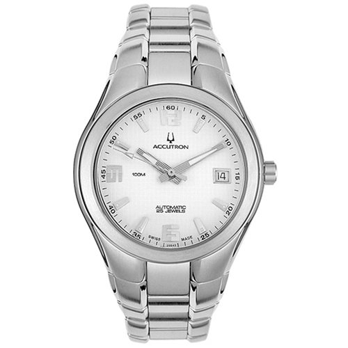 Accutron Men's 26B43 Automatic Stainless Steel Watch