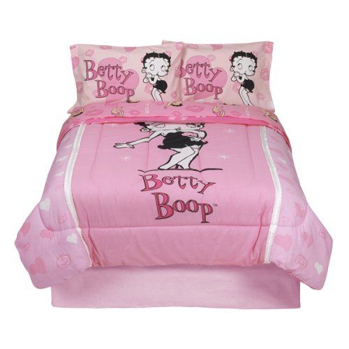 Betty Boop Comforter - Pink