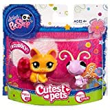 Littlest Pet Shop Cutest Pets Cat #2576 and Butterfly #2577