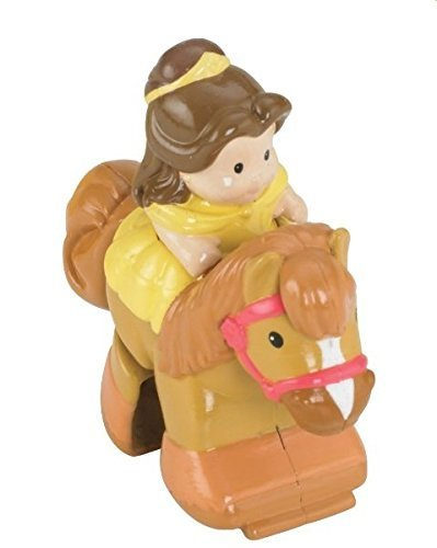 Fisher Price Little People Disney Princess Klip Klop Stable Replacement Horse/Princess Beauty & The Beast Belle (Beauty And The Beast Fisher Price compare prices)