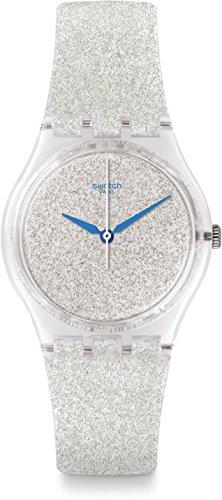 swatch-damen-armbanduhr-snowshine-analog-quarz-ge250