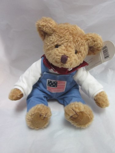 "Russ Celebrate America JEFFERSON Bear 7"" Sitting Plush"