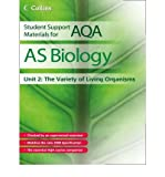 img - for AS Biology: Unit 2: The Variety of Living Organisms (Student Support Materials for AQA) (Paperback) - Common book / textbook / text book