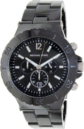 Michael Kors Men's Chronograph Dylan Black Watch MK8225