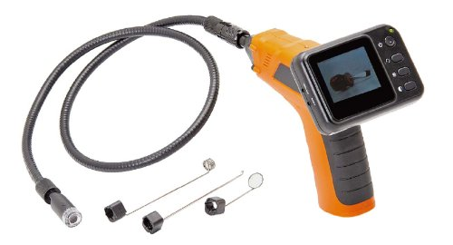 Wired Waterproof Snake Plumbing Sewer Inspection Handhold Camera with 2.5 TFT-LCD Color LCD Monitor and 3 feet flexible extended tube (non-wireless)