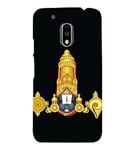 printtech Lord God Balaji Back Case Cover for Motorola Moto G4 Plus / Motorola Moto G4