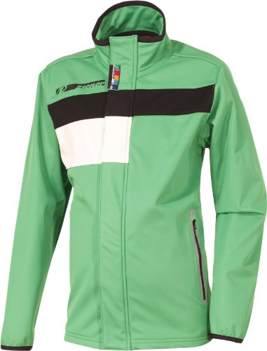 Ziener Kinder Softshelljacke ALBO Underlayer, bright green, 164