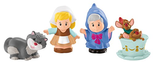 Fisher-Price Little People Disney Princess Cinderella & Friends