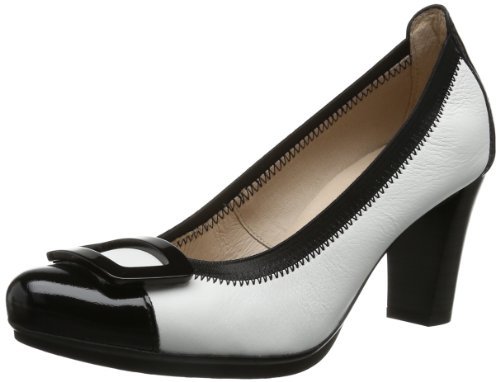 Hispanitas Womens Agatha HV49735 Closed White Weià (Retromilled Blanco) Size: 4 (37 EU)