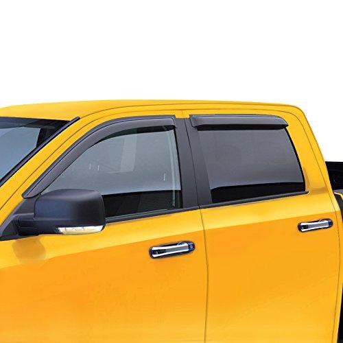 LT Sport SN#100000000111-201 For DODGE RAM 1500/2500 QUAD CAB 3500 Side Window Acrylic 4pcs Visor (2008 Dodge Ram Quad Cab compare prices)