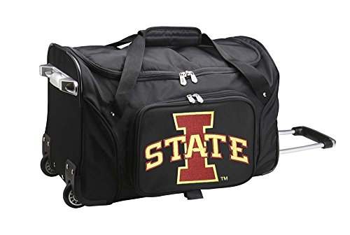 NCAA Iowa State Cyclones Wheeled Duffle Bag (Cyclone Inline Fan compare prices)