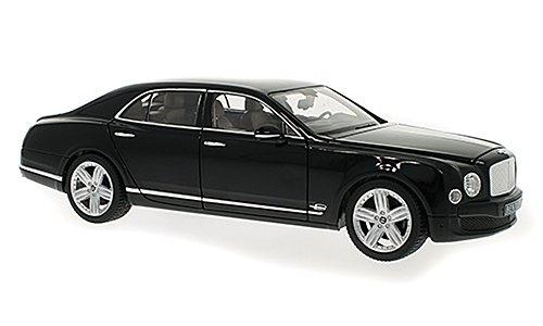 Bentley Mulsanne, nero, modello di automobile, modello prefabbricato, Rastar 1:18 Modello esclusivamente Da Collezione