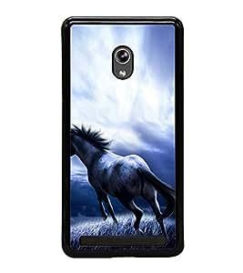 Fuson Premium 2D Back Case Cover Horse With Multi Background Degined For Asus Zenfone 6::Asus Zenfone 6 A600CG