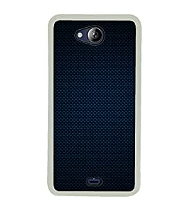 Blue Pattern 2D Hard Polycarbonate Designer Back Case Cover for Micromax Canvas Play Q355