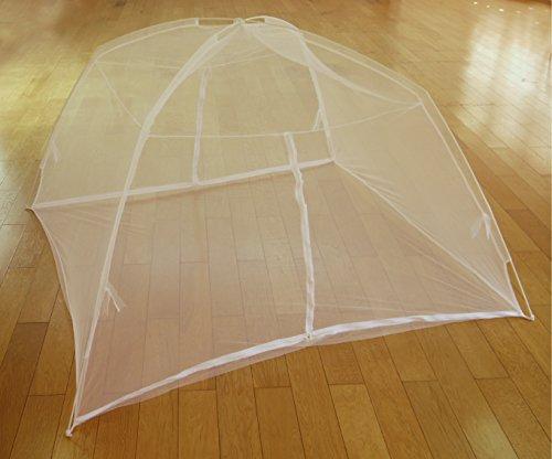 【gioiellante】蚊帳 モスキートネット 折りたたみ式 安眠対策 虫除け (120cm×200cm)