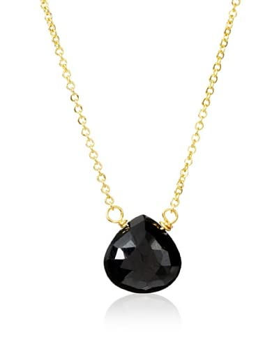 Amanda Rudey Bailey Black Spinel Necklace