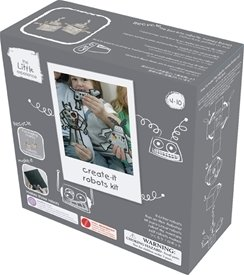 The Little Experience Create-it Robots Kit
