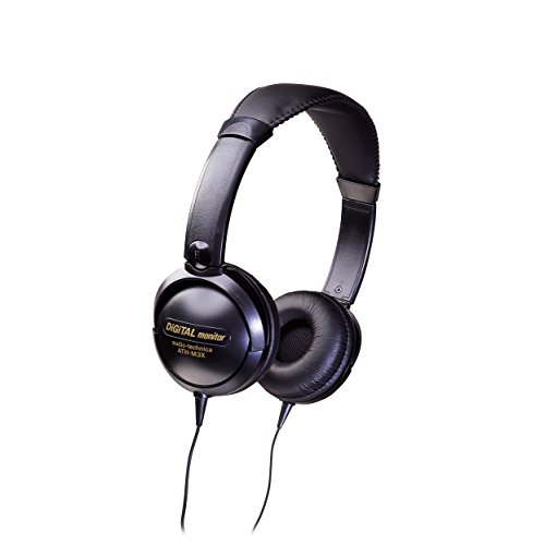 Audio Technica Mid-Sized Closed-Back Dynamic Stereo Headphones